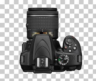 Digital SLR Canon EF-S 18–55mm Lens Nikon Photography Camera PNG