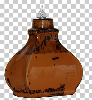 Oil Lamp Art Glass Electric Light Candle Wick PNG
