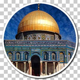 Dome Of The Rock Al-Aqsa Mosque Temple In Jerusalem Umayyad Caliphate Asmina Muslim Wear PNG