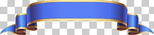 Ribbon Banner Gold PNG