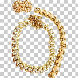 Body Jewellery Necklace Bracelet Pearl PNG
