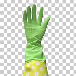 Medical Glove Latex Cuff Rubber Glove PNG
