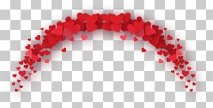 Red Valentine's Day Romance PNG