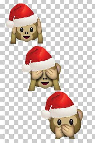 Emoji Funny Santa Claus Ice Princess PNG