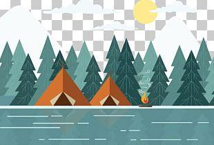 Graphic Design Landscape Illustration PNG