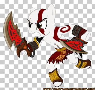 My Little Pony God Of War Kratos Character PNG
