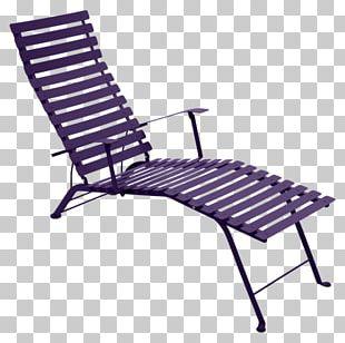 Bistro Table Chaise Longue Deckchair PNG