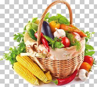 Vegetable Fruit Basket Food Bell Pepper PNG