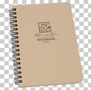 Waterproof Paper Notebook Book Cover Wire Binding PNG