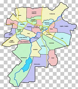 Biała Podlaska Za Cukrownią City District Map PNG