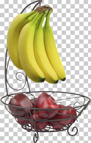 Banana Bowl Basket Fruit Tree PNG