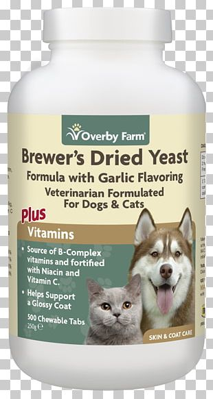 Flea Treatments Dog Cat Brewer's Yeast Nutritional Yeast PNG
