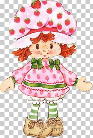 Paper Doll Strawberry Shortcake Tart PNG
