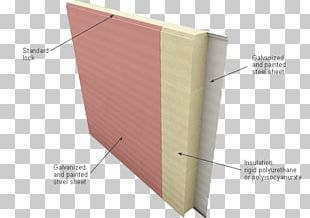 Polyurethane Polyisocyanurate Sandwich Panel Plywood Wall PNG