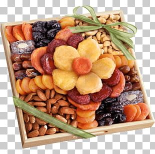 Dried Fruit Nut Gift Tray Dried Apricot PNG