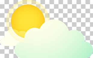 Yellow Sky Circle PNG