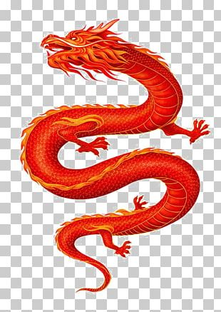 China Chinese Dragon PNG