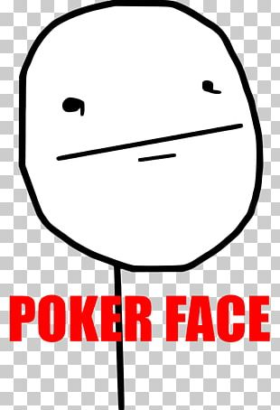 Poker Face Internet Meme Rage Comic PNG
