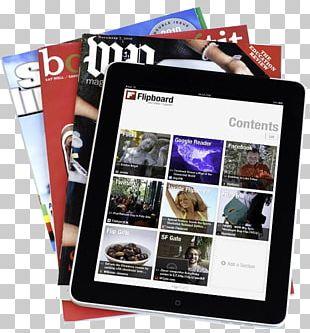 Social Media Magazine Flipboard Mobile App Application Software PNG