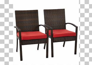 Couch Chair Wicker Rattan Dining Room PNG