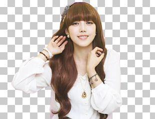 Bangs Wig Ulzzang Long Hair PNG