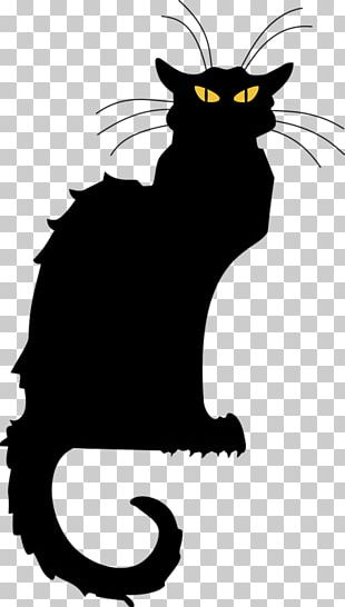 Le Chat Noir Black Cat Tournxe9e Du Chat Noir PNG