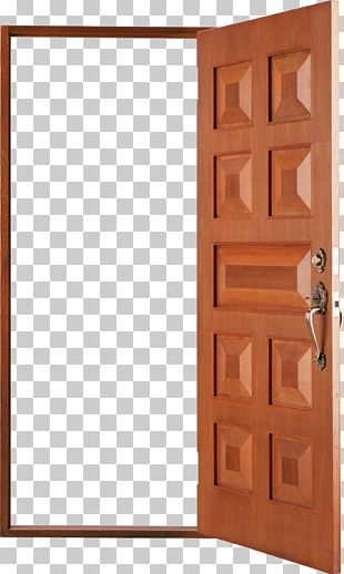 Wood Stain Door Brown Angle PNG