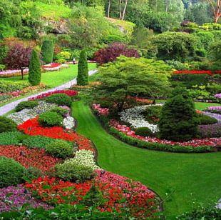 Garden Landscapes Small Family Gardens Garden Ideas Landscape Design PNG
