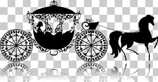Cinderella Carriage Drawing Illustration PNG