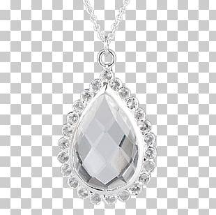Locket Body Jewellery Necklace Diamond PNG