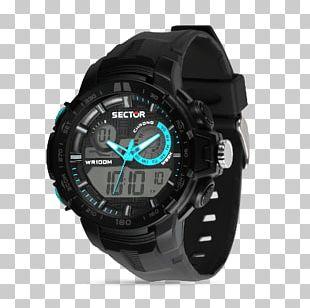 Sector No Limits Watch Digital Clock Chronograph Digital Data PNG