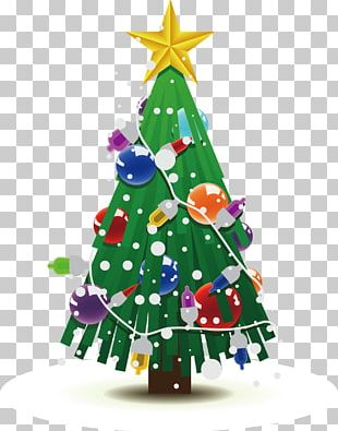 Christmas Tree Drawing Christmas Decoration PNG
