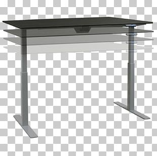 Sit-stand Desk Table Standing Desk Office PNG
