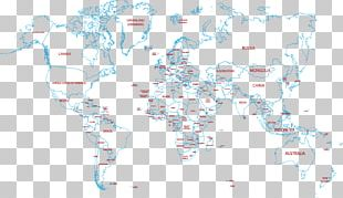 World Map Text Sky Illustration PNG