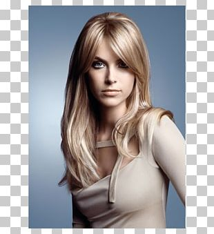 Human Hair Color Beauty Parlour Long Hair Blond PNG