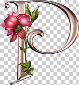 Floral Design Letter Alphabet Flower PNG