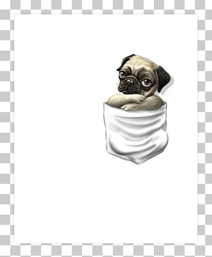 Pug Puppy T-shirt Dog Breed PNG