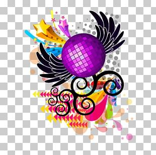 Background Music Disco PNG