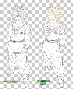 Goku Cartoon Character PNG