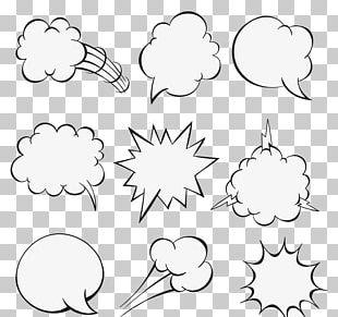 Speech Balloon Comics PNG