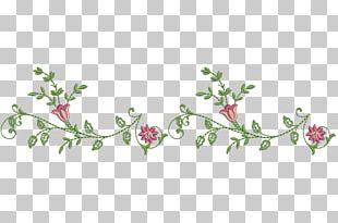 Floral Design Pink M Leaf Pattern PNG
