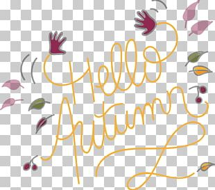 Autumn Logo Handwriting Recognition PNG