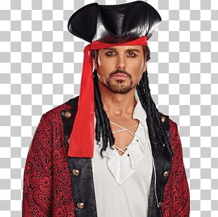Hat Tricorne Piracy Jack Sparrow Costume PNG