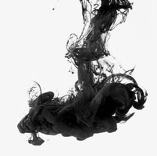 Smoke Ink Material PNG