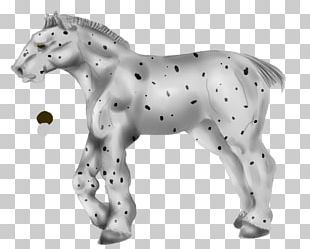Mustang Stallion Halter Animal Figurine PNG