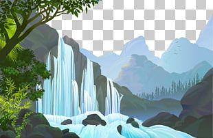 Jungle Landscape PNG