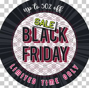 Black Friday Advertising PNG
