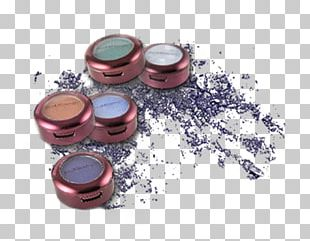Eye Shadow Cosmetics Color Face Powder PNG