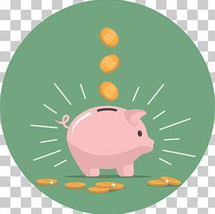 Saving Piggy Bank Money Stock Photography PNG