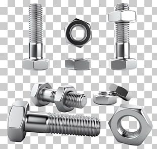 Stainless Steel Screw Fastener Bolt Nut PNG